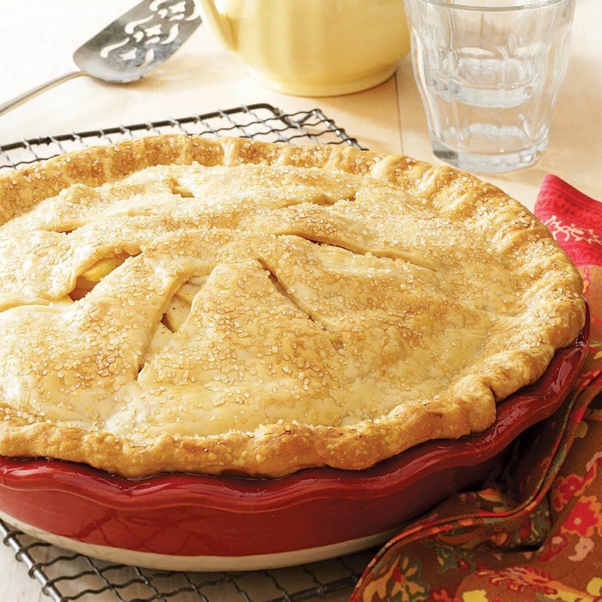Apple Pear Pie