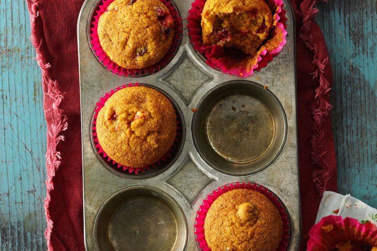 Arizona: Cranberry Pumpkin Muffins