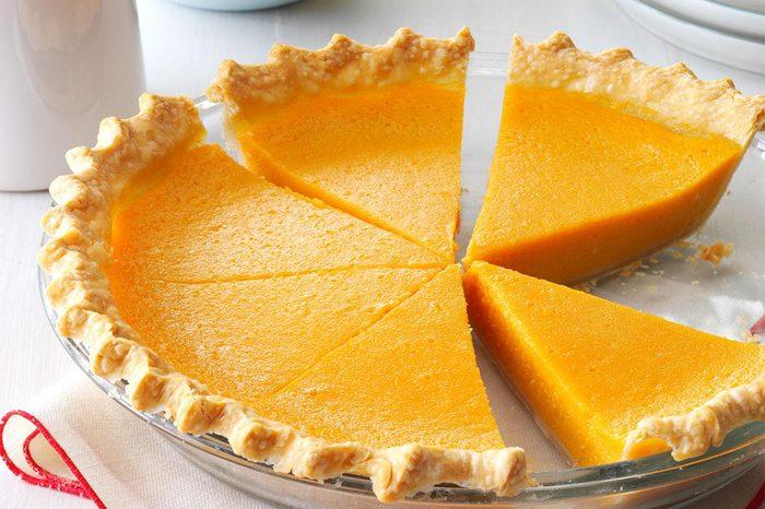Delaware: Lemony Sweet Potato Pie