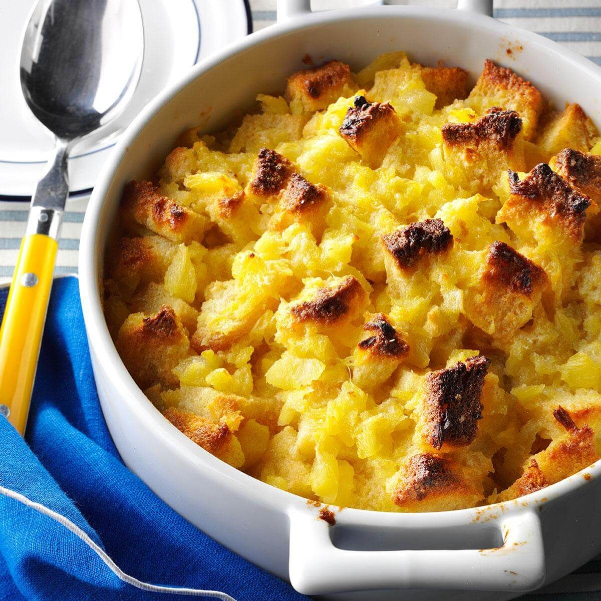 Mississippi: Scalloped Pineapple Casserole