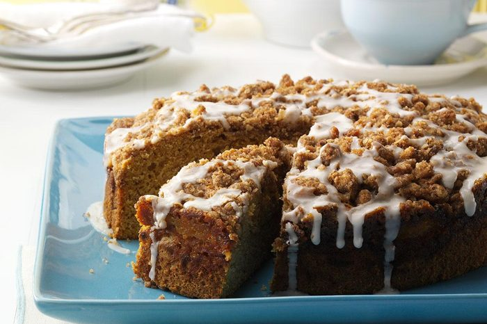 Maine: Buttercup Squash Coffee Cake