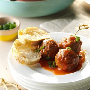 Wyoming: Slow Cooker Sweet and Sour Meatballs