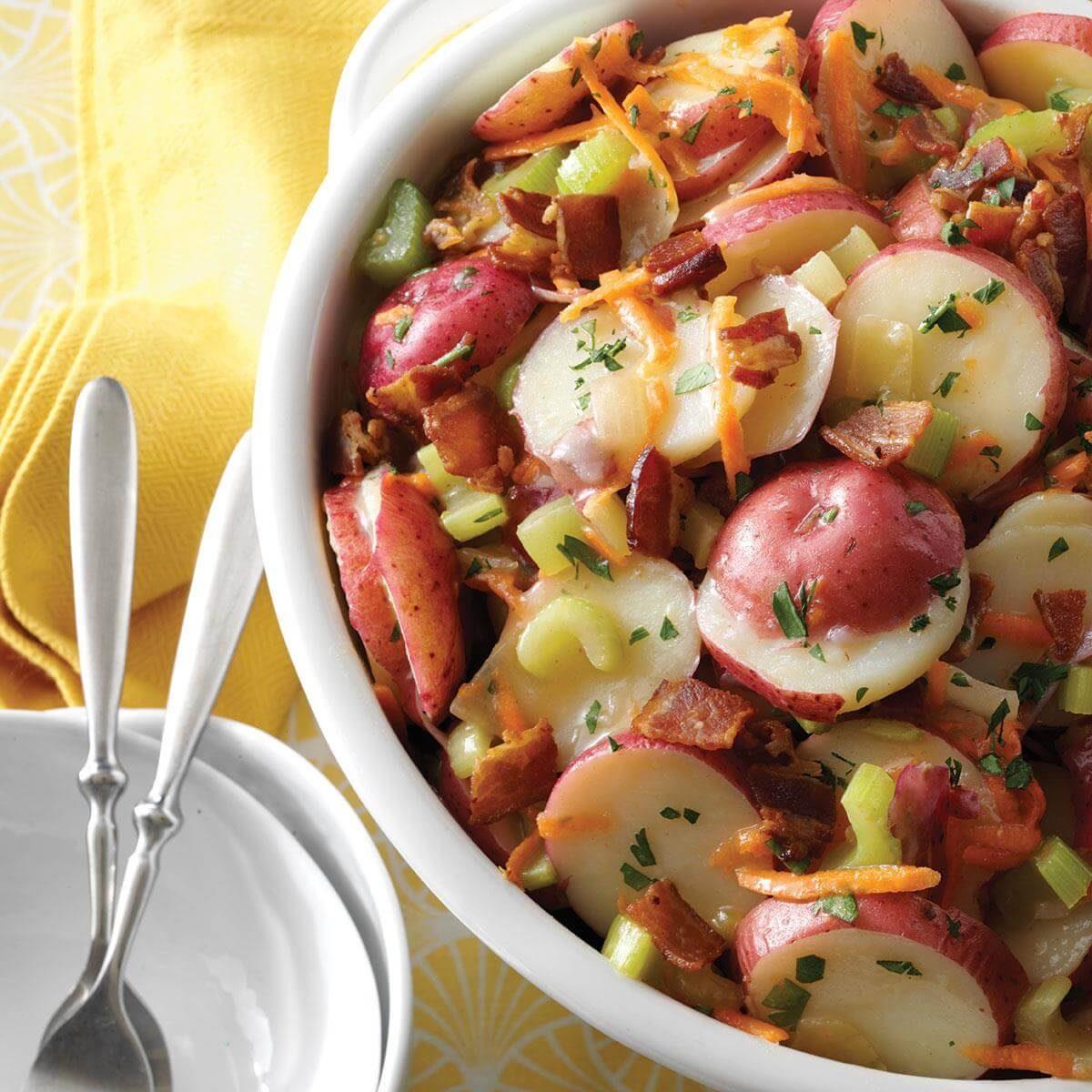 Arkansas: Deluxe German Potato Salad
