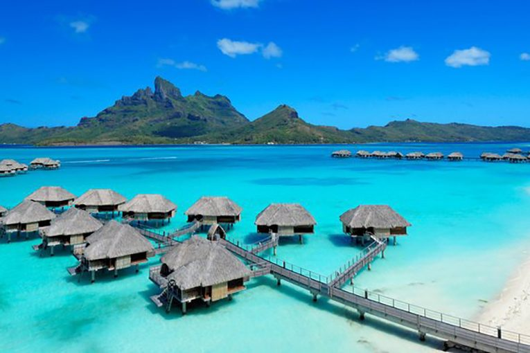 Four Seasons Resort in Bora Bora