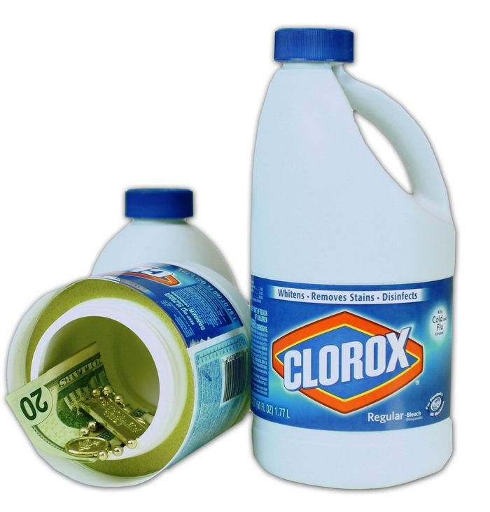 bleach container safe