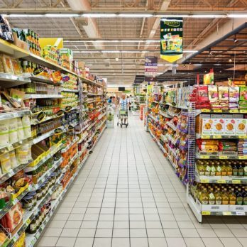 PATTAYA, THAILAND - CIRCA FEBRUARY, 2016: inside Big C Extra hypermarket. It offers a wider range of premium fresh and dry food items, imported products, and wine than a Big C Supercenter.; Shutterstock ID 408753727; Job (TFH, TOH, RD, BNB, CWM, CM): TOH Ethnic Aisle