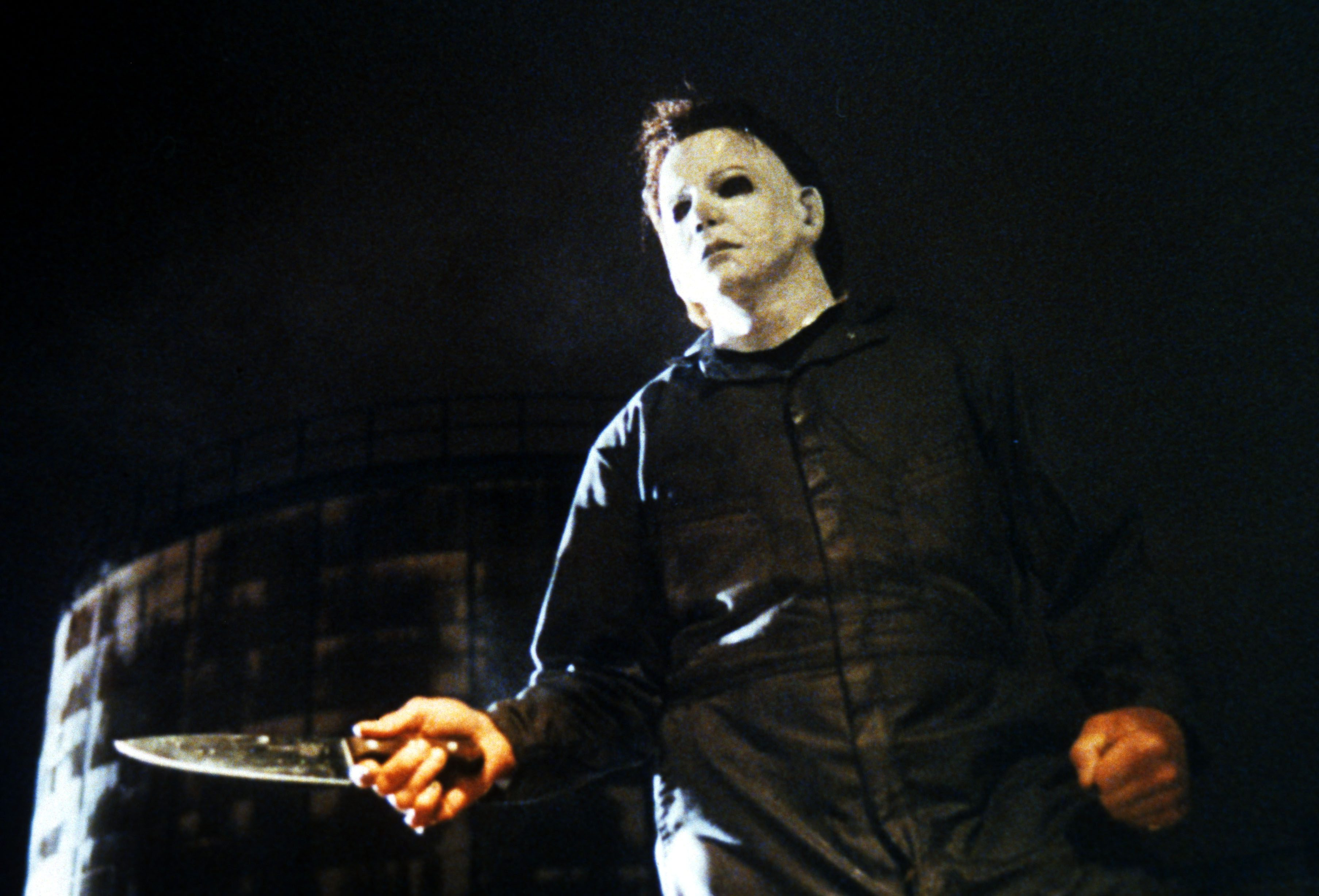 Editorial use only. No book cover usage. Mandatory Credit: Photo by Miramax/Kobal/Shutterstock (5857476a) George P Wilbur Halloween - Curse Of Michael Myers - 1995 Director: Joe Chappelle Miramax USA Scene Still