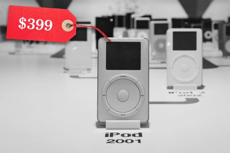 first apple ipod price