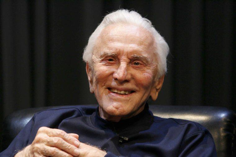 kirk douglas famous veteran