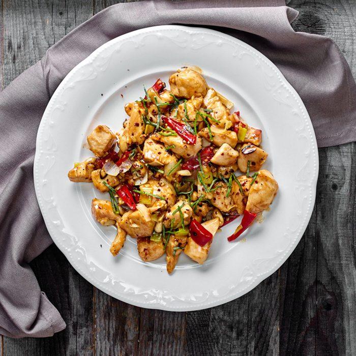 Kung Pao Chicken classic Szechuan Chinese dish