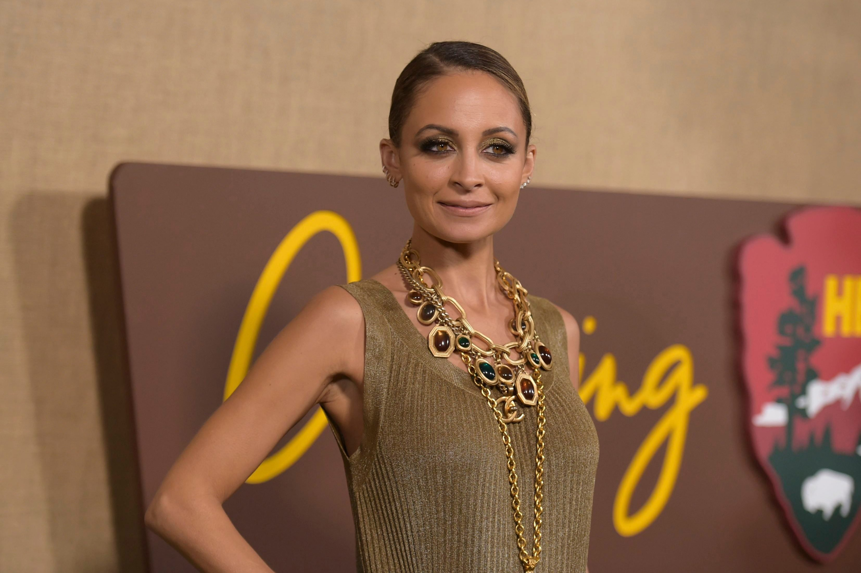 "Mandatory Credit: Photo by Richard Shotwell/Invision/AP/Shutterstock (9921912cl) Nicole Richie arrives at the Los Angeles premiere of ""Camping"", at Paramount Studios LA Premiere of ""Camping"", Los Angeles, USA - 10 Oct 2018"