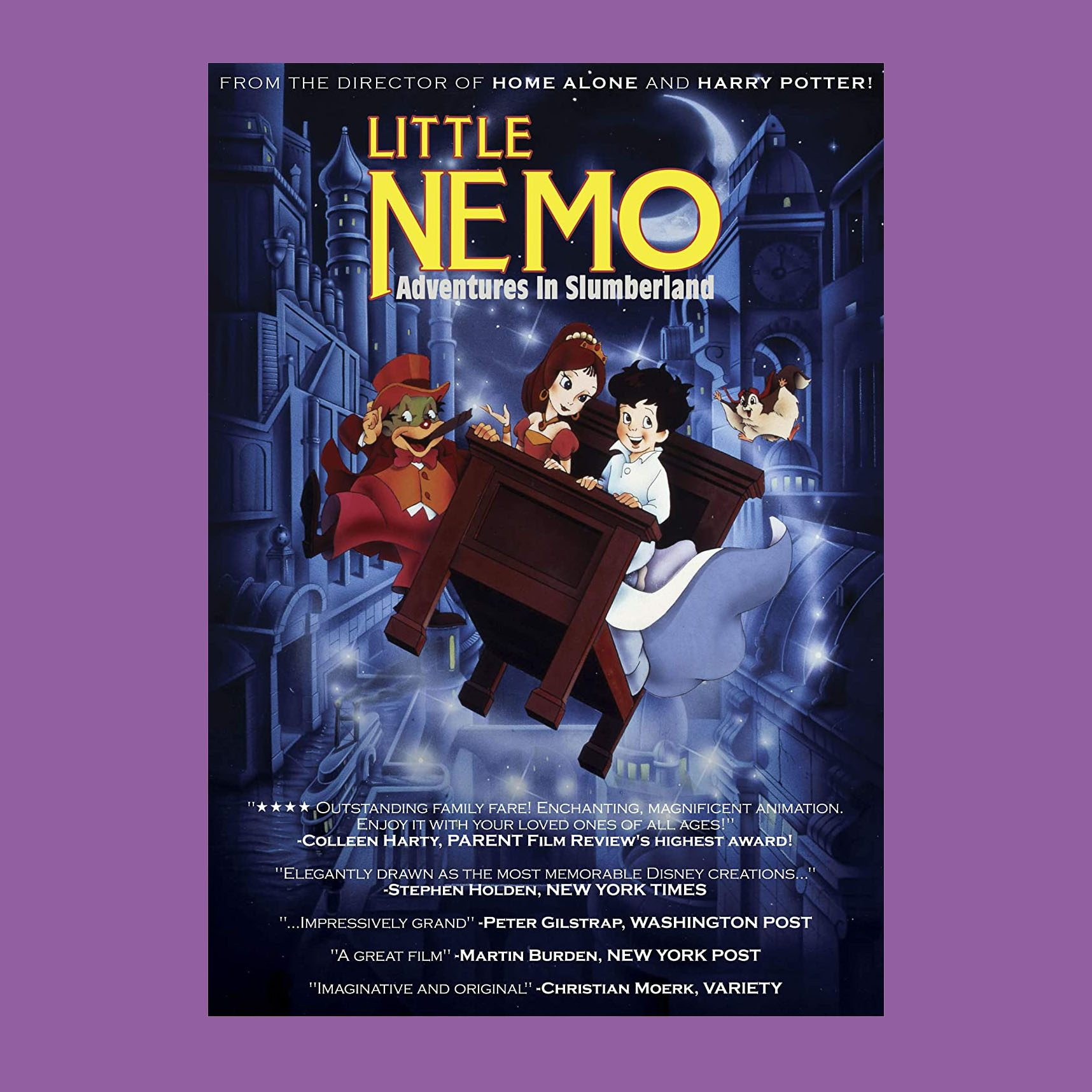 Little Nemo: Adventures in Slumberland (G)