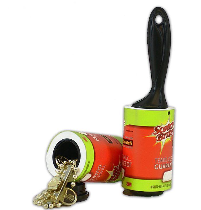 lint roller safe