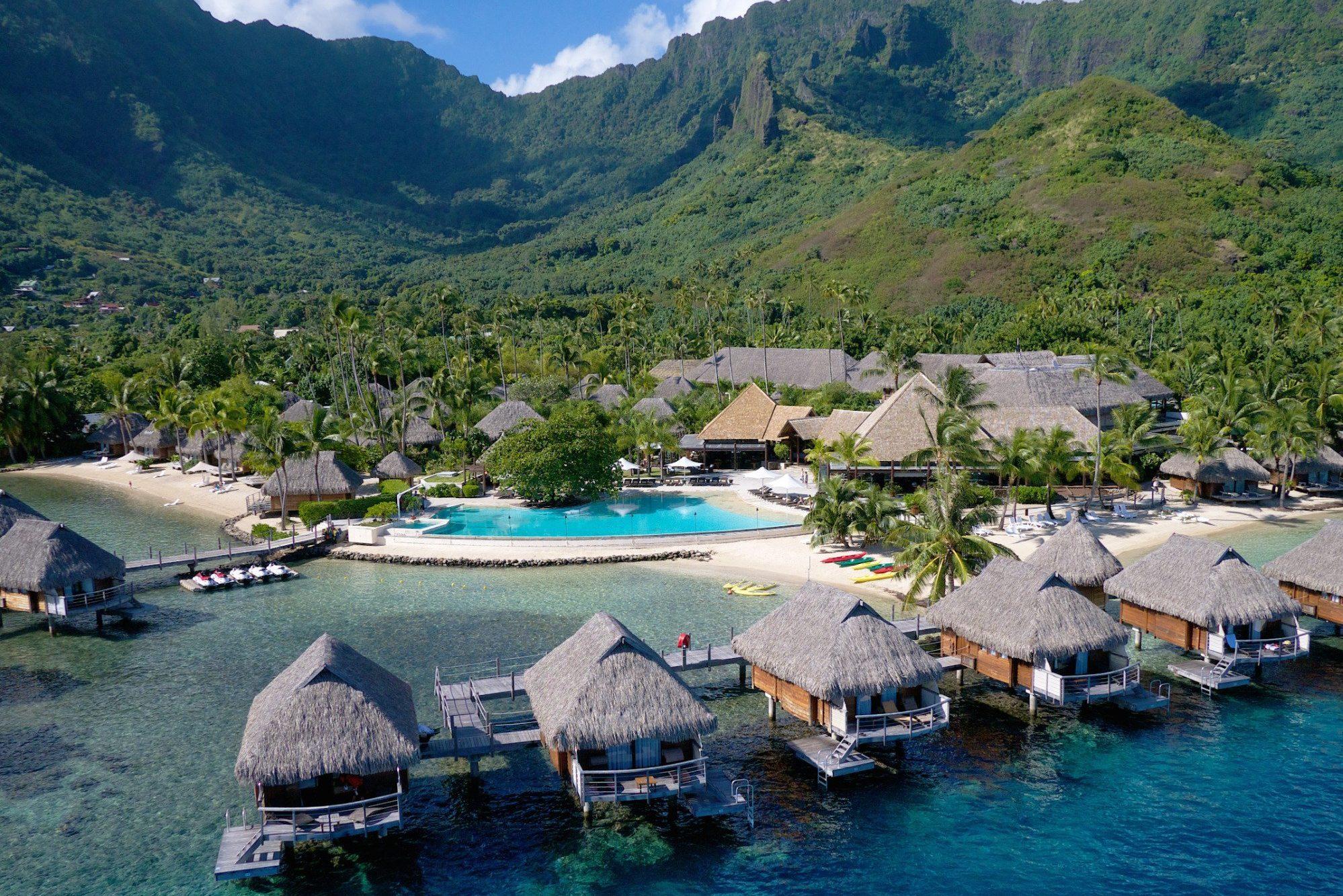 Manava Beach And Spa Resort Moorea in Tahiti