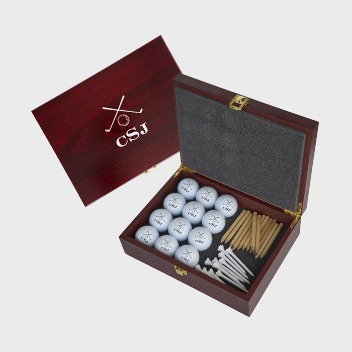 Mark & Graham Monogrammed Golf Ball Gift Set
