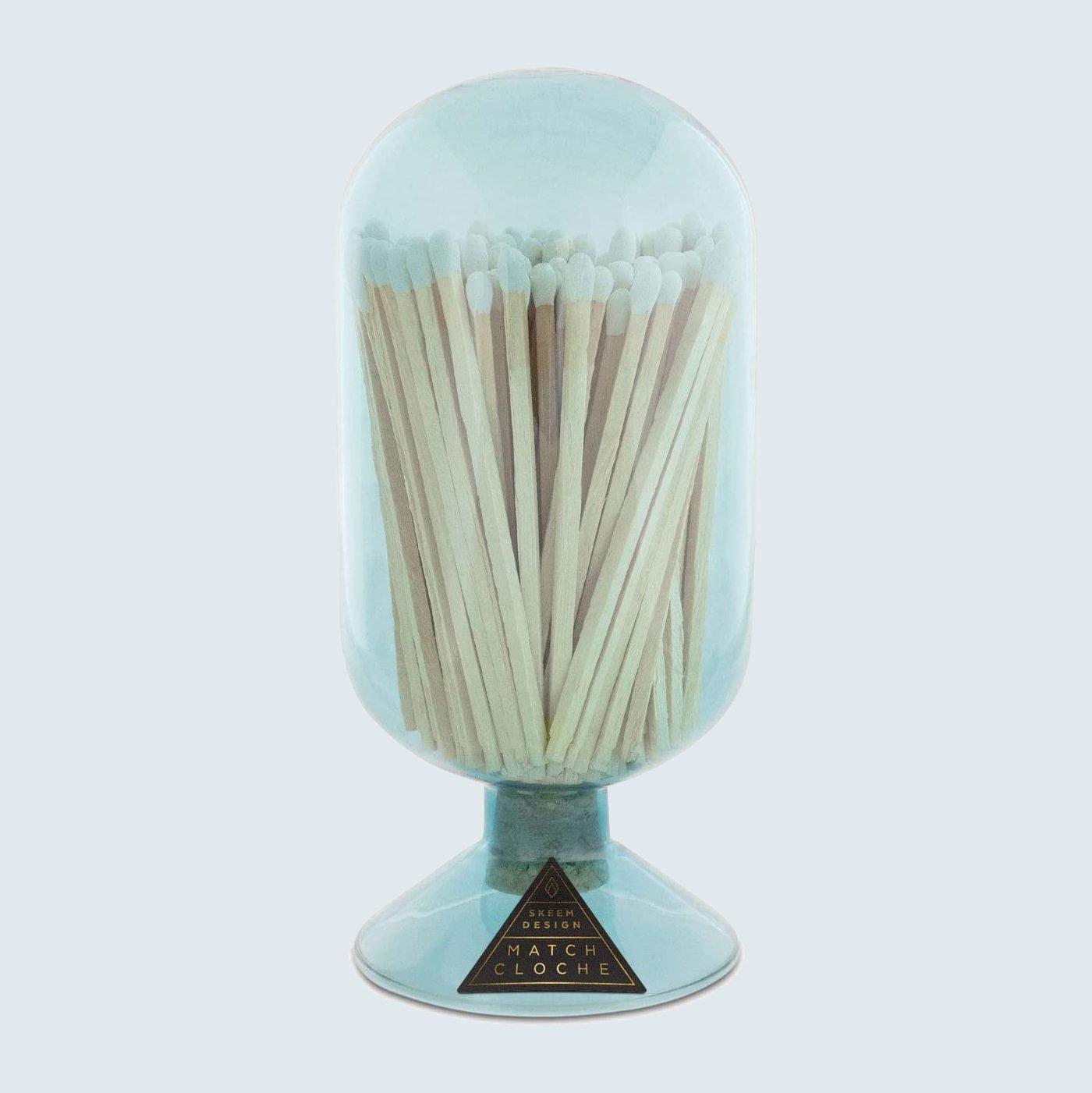 Skeem Design Handblown Glass Match Cloche