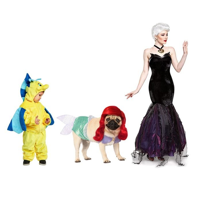 little mermaid cast halloween costumes