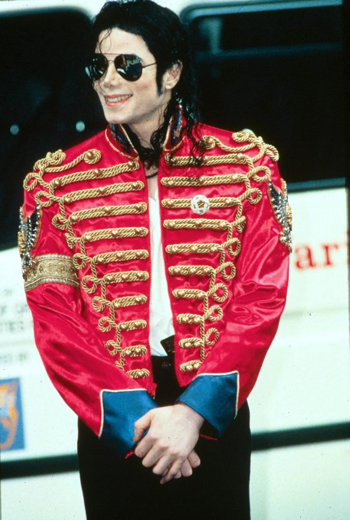Mandatory Credit: Photo by Richard Young/Shutterstock (276498a) MICHAEL JACKSON Michael Jackson Concert at the Don Valley Stadium, Sheffield, Britain - 10 Jul 1997