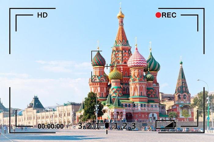 moscow russia st basils surveillance
