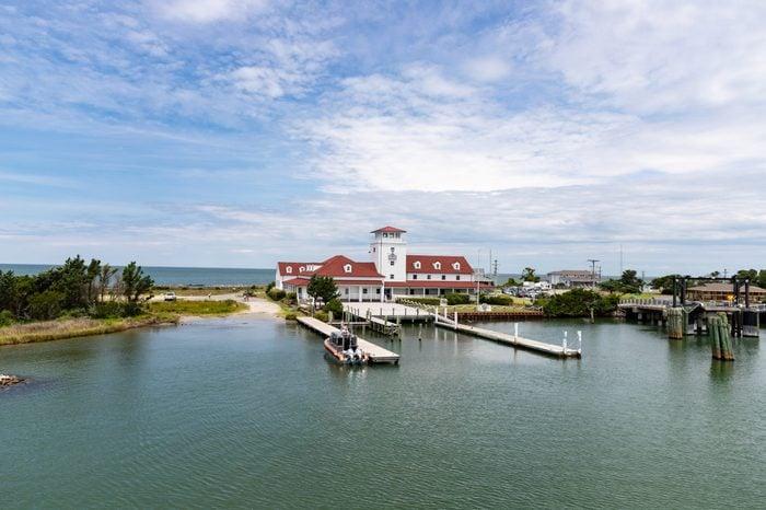 Ferry Port in Ocracoke Harbor