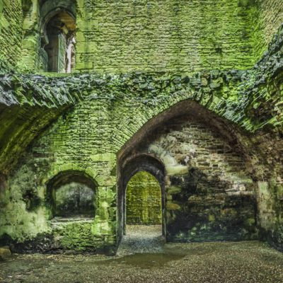 Inside Bolton Castle in North Yorkshire. One of the countries best preserved medieval castles