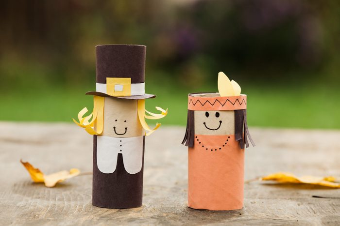 DIY decorations for Thanksgiving day.