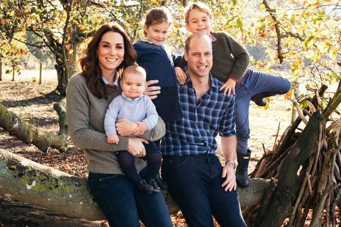 royal family holiday card photo