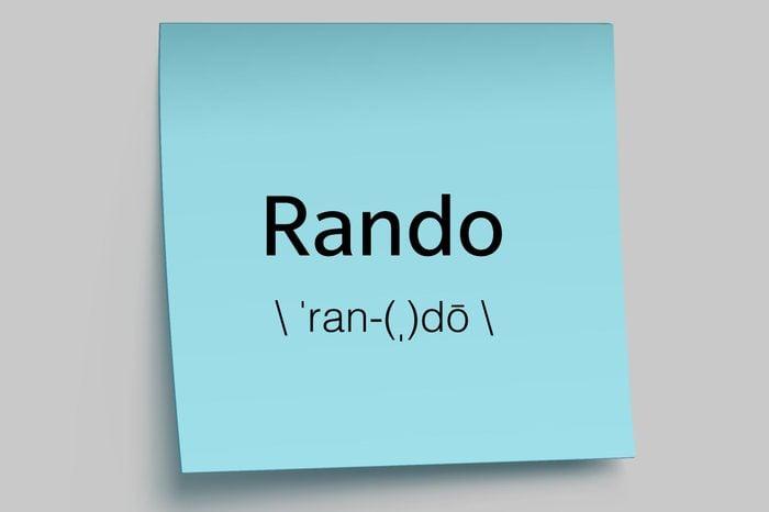 rando sticky note