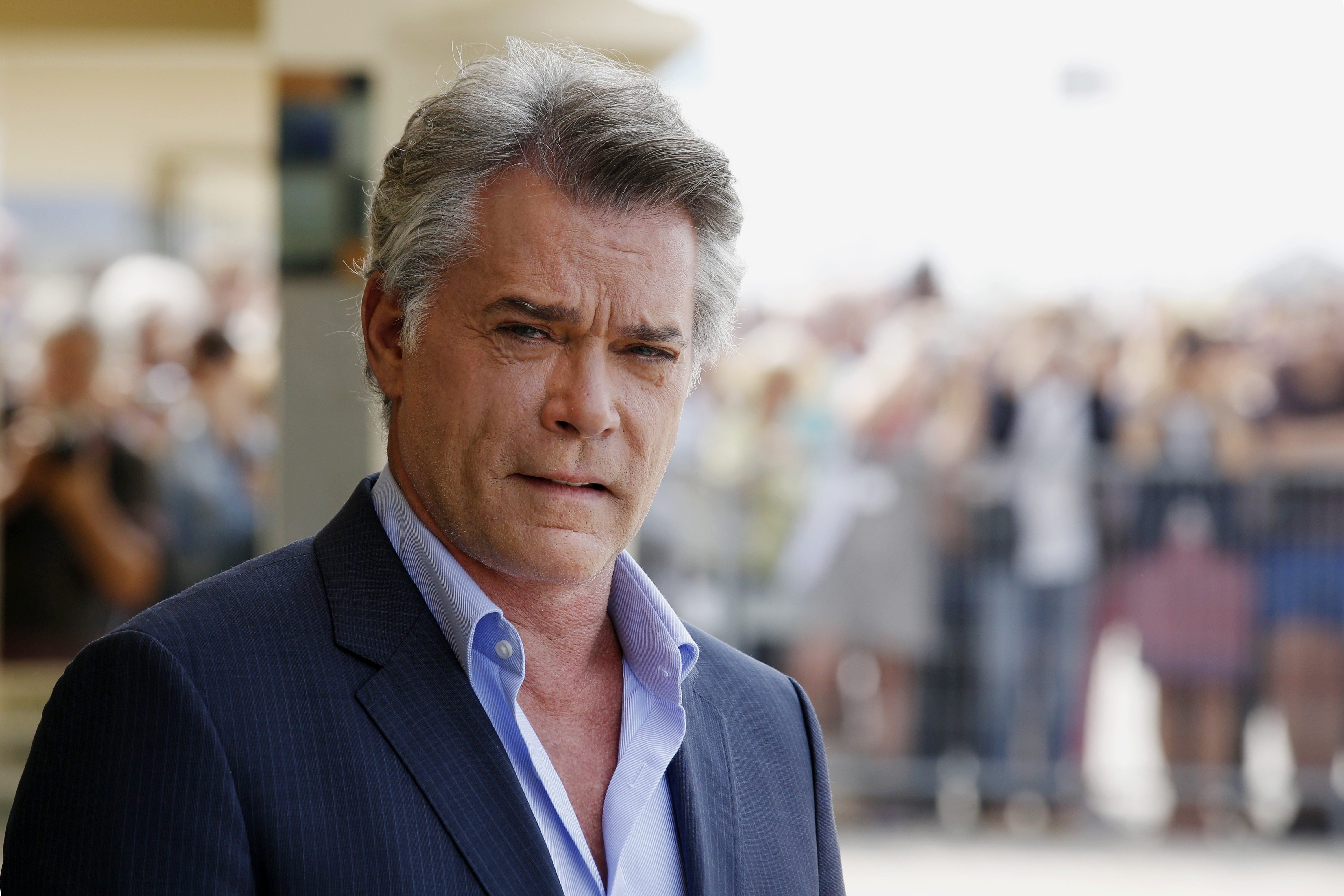 Mandatory Credit: Photo by Franck Leguet/Shutterstock (4102967f) Ray Liotta Ray Liotta photocall, 40th Deauville American Film Festival, Deauville, France - 09 Sep 2014
