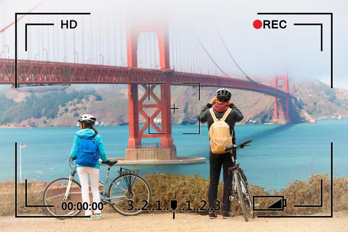 san francisco california golden gate bridge surveillance