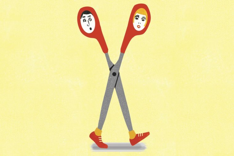 running scissors illustration by ellen weinstein