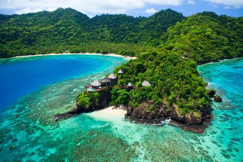 seagrass bay laucala island fiji
