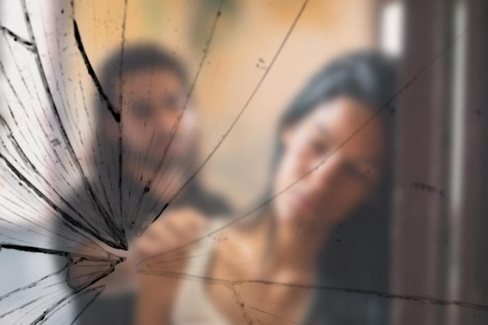 Social issues, domestic violence with young husband trying to reconcile with abused wife