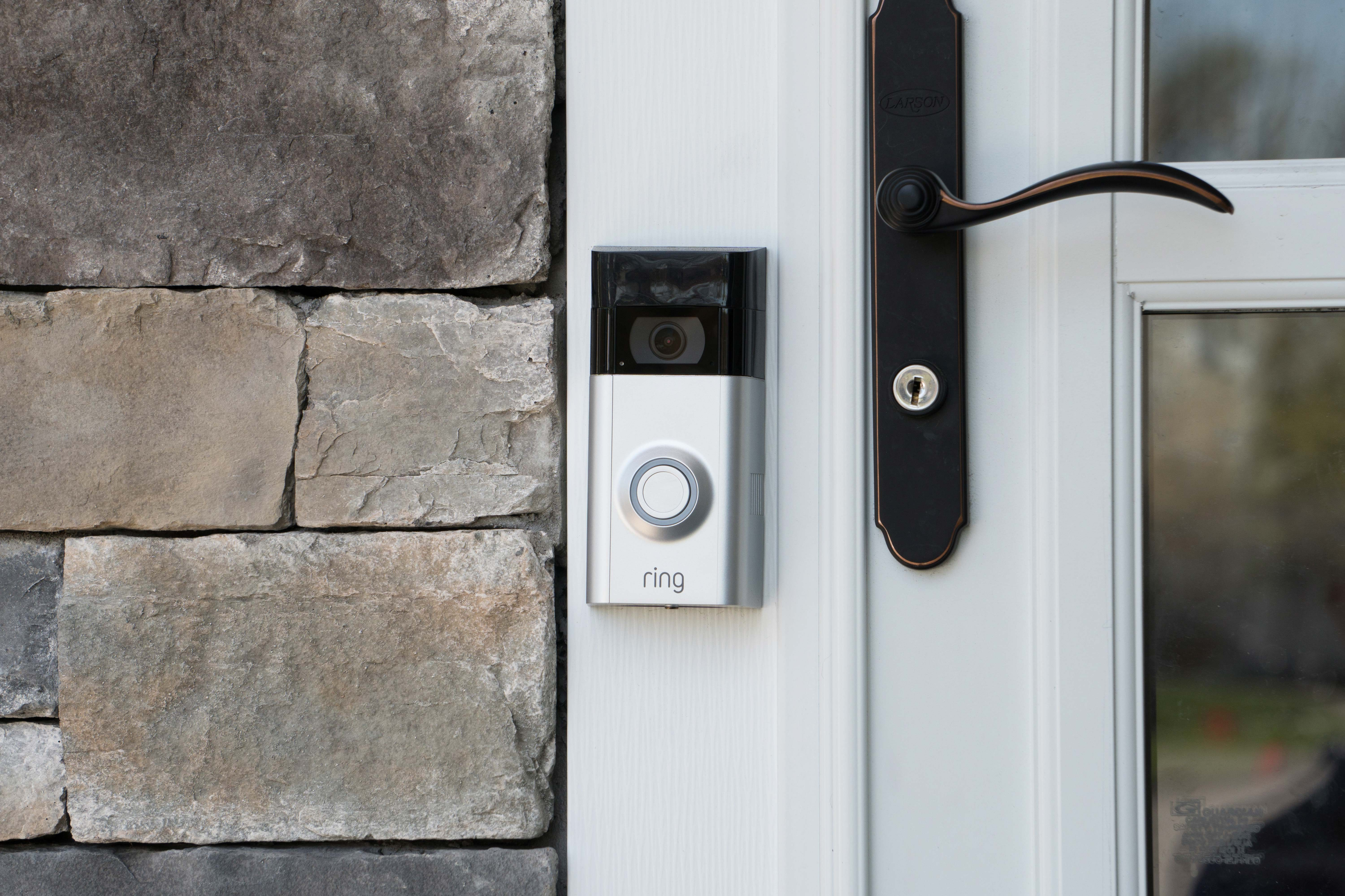 audio video doorbell