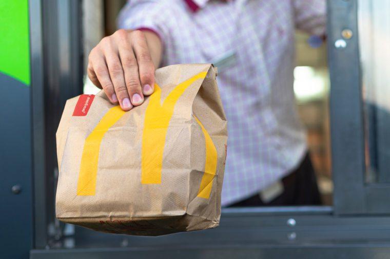 Mcdonalds bag