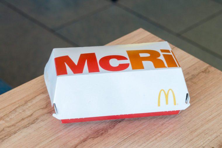 mcrib mcdonalds
