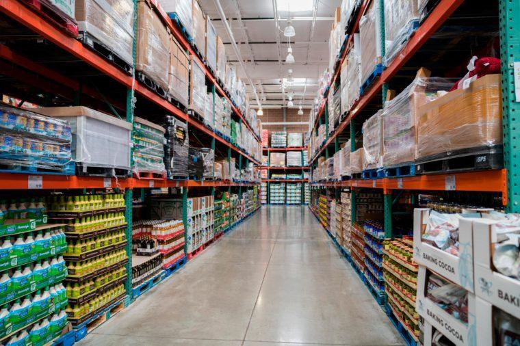 Auburn Hills, Michigan / USA - 10 01 2019 : Auburn Hills Costco Warehouse store