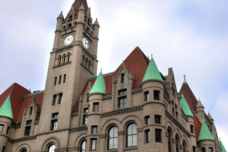 St. Paul Landmark Center, downtown St. Paul, MN