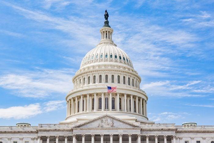 United States Capitol Dome in Washington DC