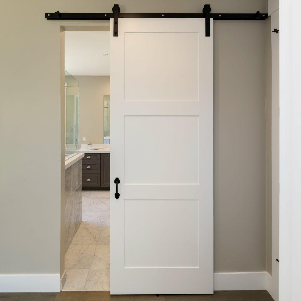 Barn Door series. Modern sliding door.