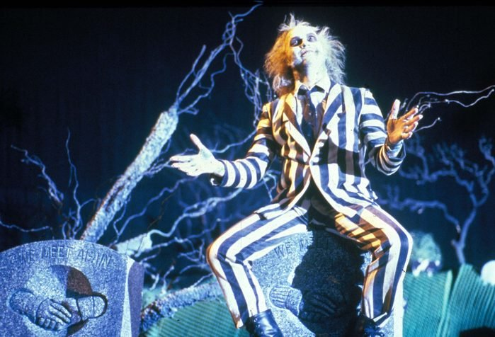 Editorial use only. No book cover usage. Mandatory Credit: Photo by Moviestore/Shutterstock (1559336a) Beetlejuice, Michael Keaton Film and Television