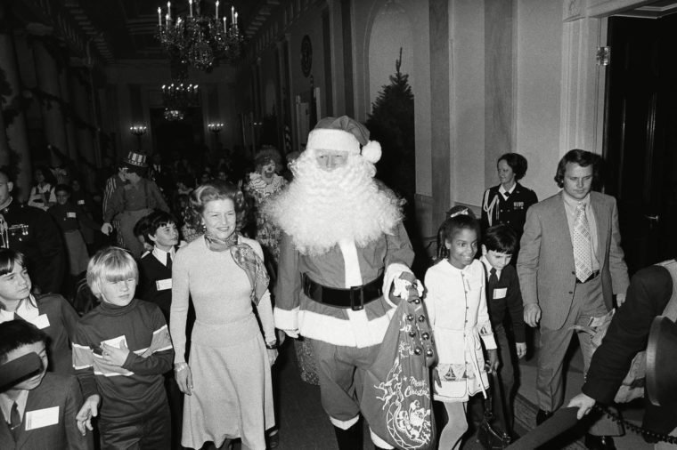 santa in the white house