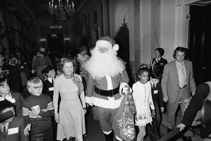 santa in the white house