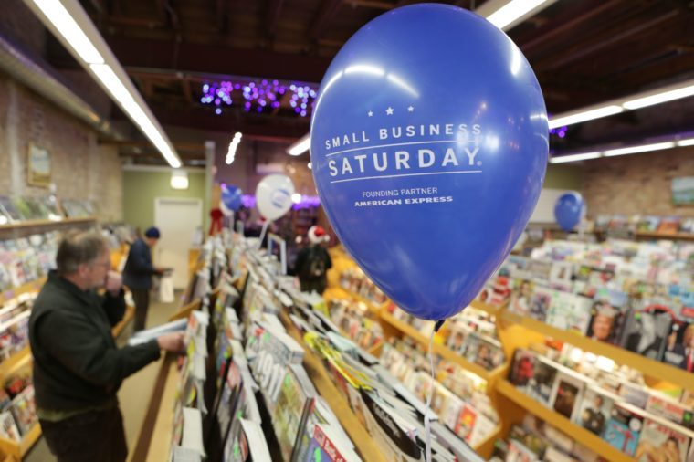 small business saturday balloon