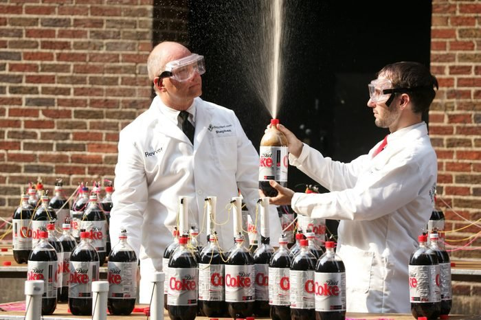 diet coke and mentos challenge