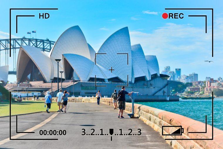 sydney australia opera house surveillance