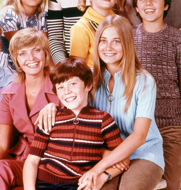 Editorial use only. No book cover usage. Mandatory Credit: Photo by Abc/Paramount/Kobal/Shutterstock (5885436c) The Brady Bunch (1969-1974) The Brady Bunch - 1969-1974 ABC/Paramount Scene Still Tv Classics