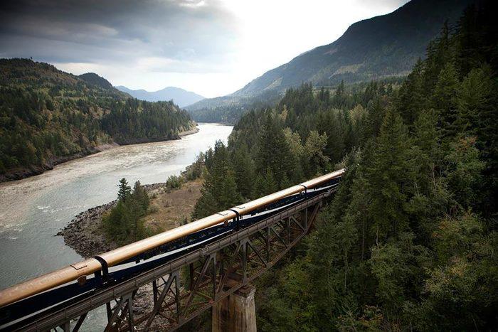 rocky mountain train tour