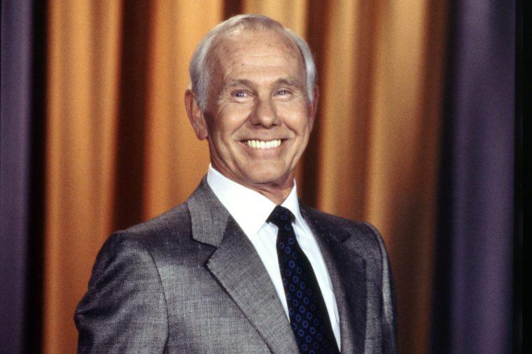 johnny carson famous veteran