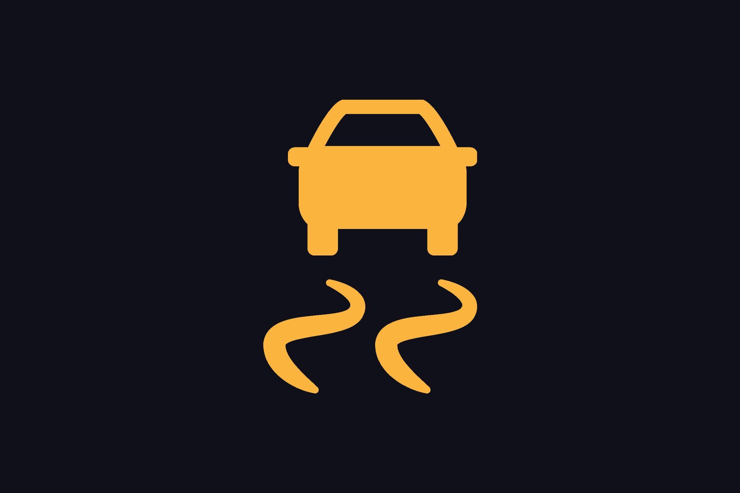 traction control symbol